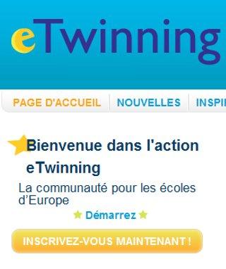 capture écran eTwinning