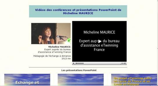 conférence Micheline Maurice